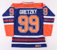 Wayne Gretzky Signed Edmonton Oilers Captain Jersey (JSA LOA)