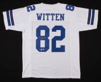Jason Witten Signed Dallas Cowboys Jersey (Beckett COA & Witten Hologram)