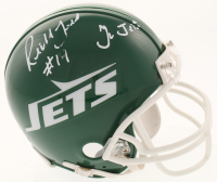 "Richard Todd Signed New York Jets Mini Helmet Inscribed ""Go Jets"" (MAB Hologram)"