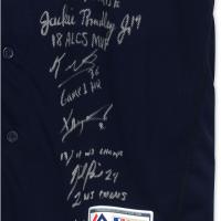 2018 Boston Red Sox Team-Signed LE Jersey with (15) Signatures Including Mookie Betts, David Price, Xander Bogaerts, Jackie Bradley, Andrew Benintendi, Matt Barnes (Fanatics & MLB Hologram) at PristineAuction.com