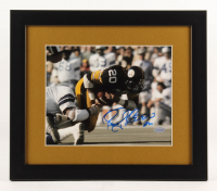 Rocky Bleier Signed Pittsburgh Steelers 13x15 Custom Framed Photo Display (Steiner COA)