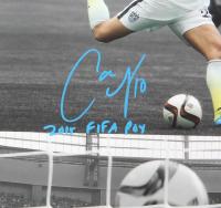 "Carli Lloyd Signed Team USA 16x20 Photo Inscribed ""2015 FIFA POY"" (Radtke COA & Lloyd Hologram) at PristineAuction.com"
