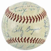 1956 Pittsburgh Pirates ONL Baseball Team-Signed by (27) with Roberto Clemente (PSA LOA) at PristineAuction.com