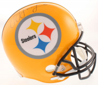 "JuJu Smith-Schuster Signed Pittsburgh Steelers ""75th Anniversary"" Full-Size Helmet (Schwartz COA)"