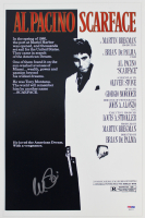 "Al Pacino Signed ""Scarface"" 12x18 Movie Poster Photo (PSA LOA)"