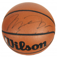 Michael Jordan Signed Basketball (UDA COA)
