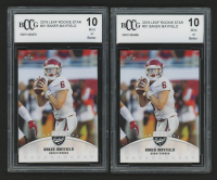 Lot of (2) 2018 Leaf Rookie Star #01 Baker Mayfield (BCCG 10) at PristineAuction.com