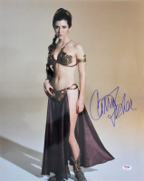 "Carrie Fisher Signed ""Star Wars: Episode VI – Return of the Jedi"" 16x20 Photo (PSA COA)"