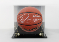 "Paul Pierce Signed Basketball with Display Case Inscribed ""Boston Strong"" (Beckett COA)"