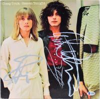 "Cheap Trick ""Heaven Tonight"" Vinyl Record Album Signed by (4) with Rick Nielsen, Tom Petersson, Robin Zander & Bun E. Carlos (Beckett LOA)"