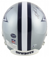 Troy Aikman, Emmitt Smith & Michael Irvin Signed Dallas Cowboys Full-Size Authentic On-Field Helmet (Beckett COA & Prova Hologram) at PristineAuction.com