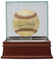 Roger Maris & Sadaharu Oh Signed FSL Baseball with Display Case (PSA LOA)