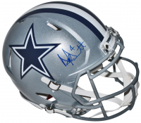 Dak Prescott Signed Dallas Cowboys Full-Size Authentic On-Field Speed Helmet (JSA COA)