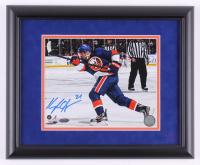 Kyle Okposo Signed New York Islanders 13x16 Custom Framed Photo Display (Steiner COA)