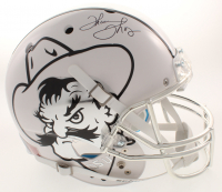 Thurman Thomas Signed Oklahoma State Cowboys Full-Size Helmet (TriStar Hologram)