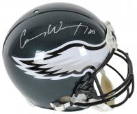 "Carson Wentz Signed Philadelphia Eagles Full-Size Authentic On-Field Helmet Inscribed ""AO1"" (Beckett COA)"