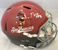 George Kittle Signed San Francisco 49ers Full-Size Hydro Dipped Speed Helmet (Beckett COA)