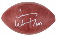 "Carson Wentz Signed ""The Duke"" Official NFL Game Ball Inscribed ""A01"" (Fanatics Hologram)"