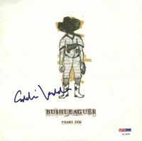 "Eddie Vedder Signed ""Bu$hleaguer"" Mini Record Album (PSA LOA)"