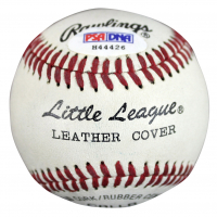 Gerald Ford Signed Little League Baseball (PSA COA) at PristineAuction.com