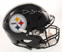Devin Bush Jr Signed Pittsburgh Steelers Full-Size Authentic On-Field Speedflex Helmet (Radtke COA) at PristineAuction.com