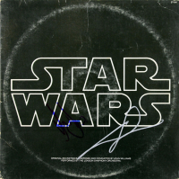 "George Lucas & Harrison Ford Signed ""Star Wars"" Record Album (Beckett LOA)"
