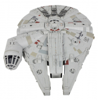 "Harrison Ford Signed ""Star Wars: The Force Awakens"" Replica Millennium Falcon (Beckett COA)"