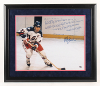 Mike Eruzione Signed Team USA 22x26 Custom Framed Photo with Extensive Inscription (Steiner COA) at PristineAuction.com