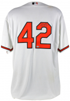 Manny Machado Signed Game-Used Baltimore Orioles #42 Jackie Robinson Jersey (MLB Hologram)