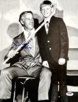 "Wayne Gretzky & Gordie Howe Signed 11x14 Photo Inscribed ""Mr. Hockey"" (PSA LOA)"