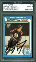Wayne Gretzky Signed 1979-80 Topps #18 RC (PSA Encapsulated)