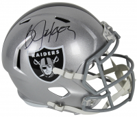 Bo Jackson Signed Los Angeles Raiders Full-Size Speed Helmet (Beckett COA)