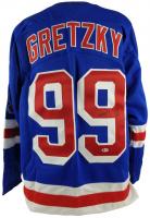 Wayne Gretzky Signed New York Rangers Jersey (Beckett LOA)