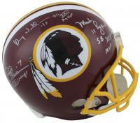 Joe Theismann, Doug Williams & Mark Rypien Signed Washington Redskins Full-Size Helmet with (3) Inscriptions (Beckett COA)