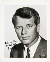 "Robert F. Kennedy Signed 8x10 Photo Inscribed ""With Best Wishes"" (JSA LOA)"