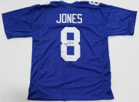 Daniel Jones Signed New York Giants Jersey (Beckett COA)