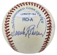 Triple Crown Winners OAL Baseball Signed by (5) with Mickey Mantle, Ted Williams, Carl Yastrzemski (Beckett LOA & UDA COA) at PristineAuction.com