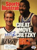 Wayne Gretzky & Magic Johnson Signed 1988 Sports Illustrated Magazine (PSA LOA)