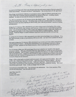 "James ""Whitey"" Bulger Hand-Written Letter (Beckett LOA)"
