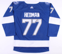 Victor Hedman Signed Tampa Bay Lightning Jersey (JSA COA)