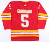 Mark Giordano Signed Calgary Flames Jersey (JSA COA)