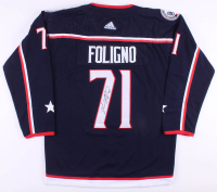 Nick Foligno Signed Columbus Blue Jackets Captains Jersey (JSA COA)