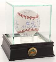 1969 New York Mets OML Baseball Team-Signed by (23) with Nolan Ryan, Jerry Koosman, Art Shamsky, Al Jackson, Bud Harrelson (PSA LOA)
