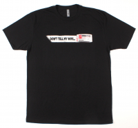 "Pristine Auction ""Don't Tell My Wife"" T-Shirt - Black (Size: Medium) at PristineAuction.com"