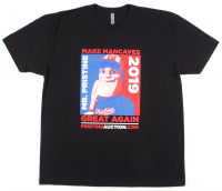 Pristine Auction - Mr. Pristine Campaign T-Shirt - Black (Size: Medium) at PristineAuction.com