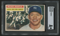 1956 Topps #135 Mickey Mantle (SGC Authentic)