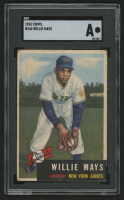 1953 Topps #244 Willie Mays (SGC Authentic) at PristineAuction.com