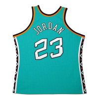 "Michael Jordan Signed 1996 NBA All-Star Limited Edition Jerey Inscribed ""2/11/96 MVP"" (UDA COA) at PristineAuction.com"
