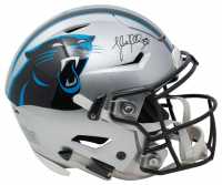 Luke Kuechly Signed Carolina Panthers Riddell Full-Size Authentic On-Field SpeedFlex Helmet (Beckett COA)