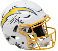 Joey Bosa Signed Los Angeles Chargers Full-Size Authentic On-Field SpeedFlex Helmet (Beckett COA) at PristineAuction.com